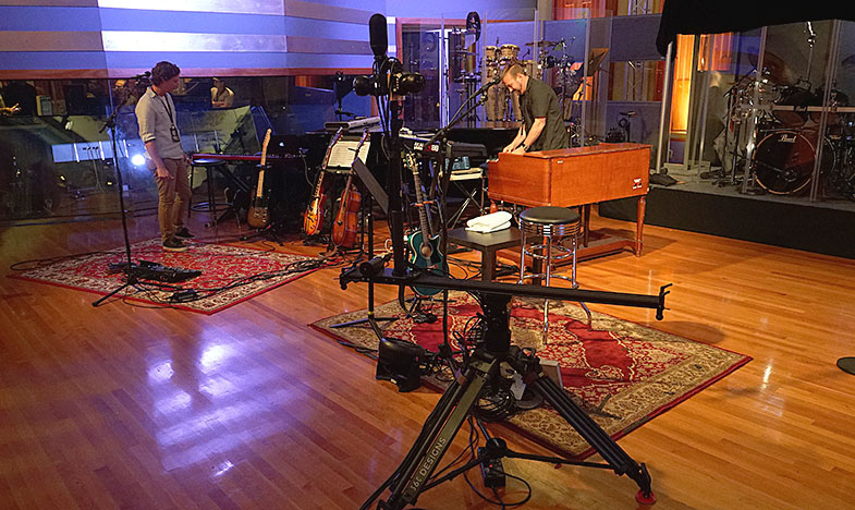 Bee Gees Barry Gibb 360° Blackmagic Micro Studio Camera 4K