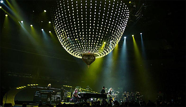 "Micro Studio Camera 4K a Video Assist na turné ""All the Hits"" Eltona Johna"