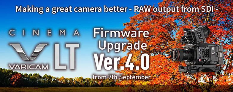 Panasonic IBC 2016 VariCam LT FW 4.0