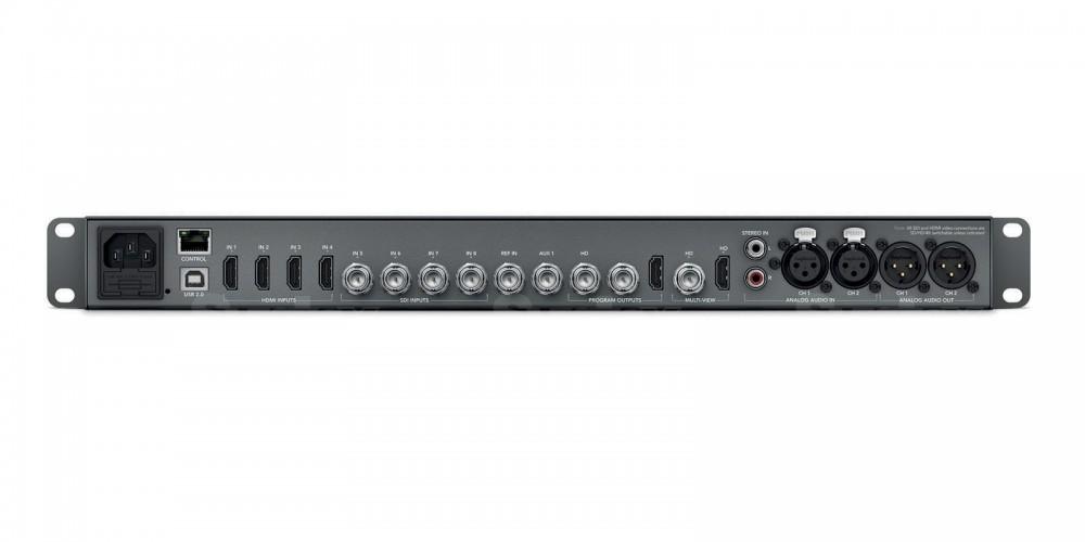 Blackmagic video mixer