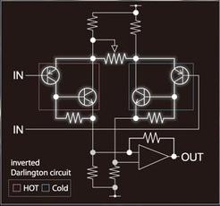 Yamaha D-PRE - Darlington circuit