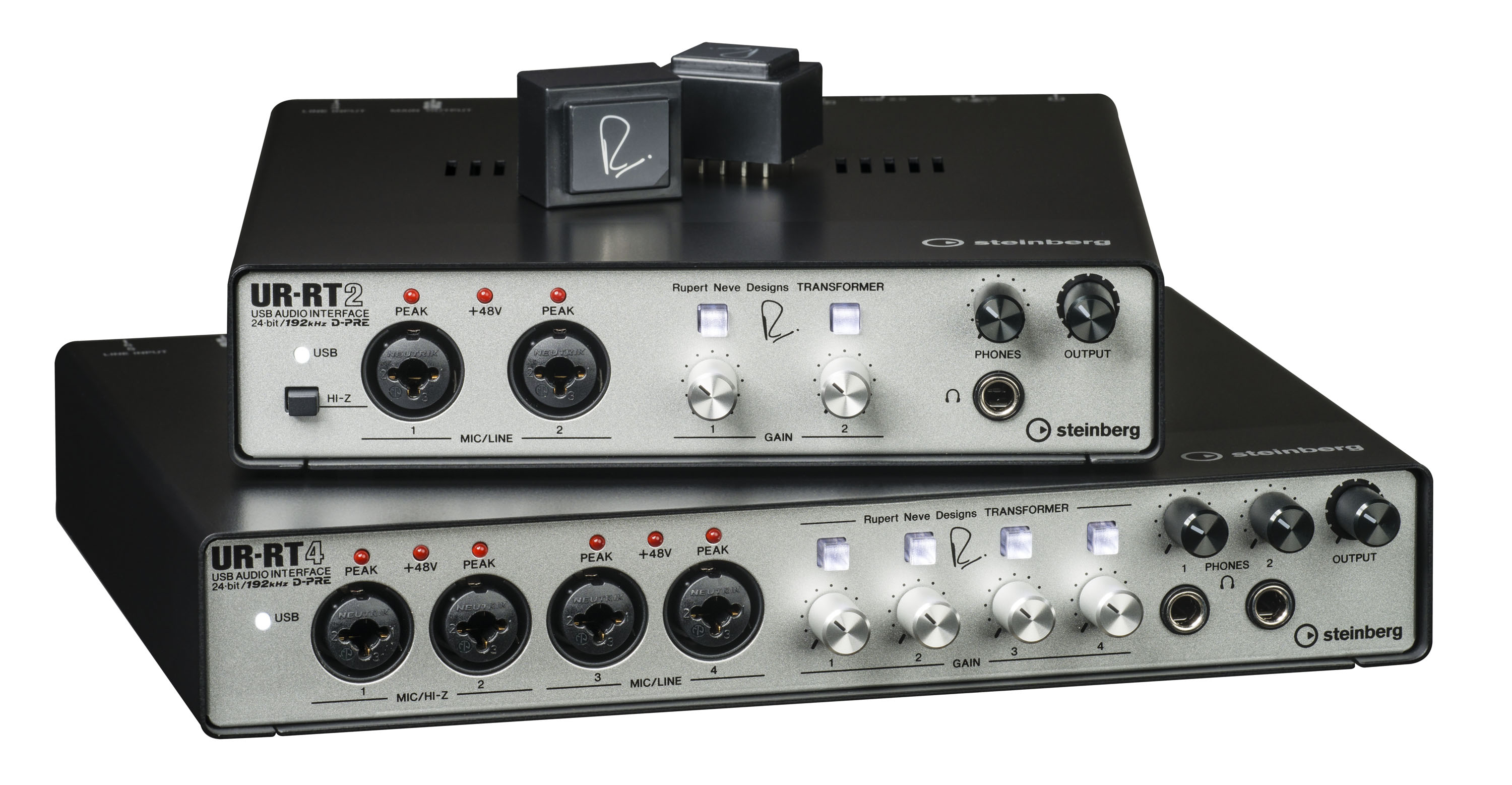 Steinberg UR-RT USB Interface with Transformers by Rupert Neve Designs